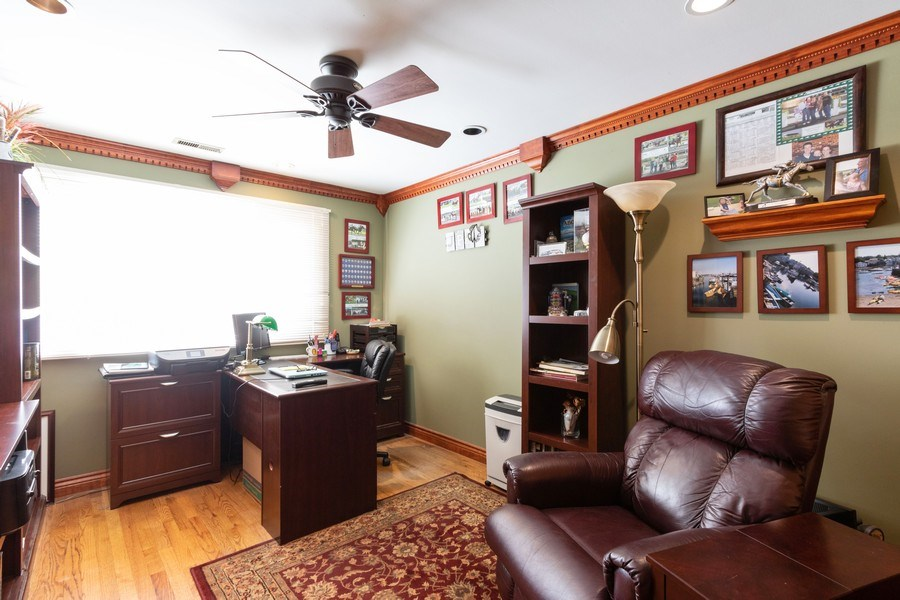 Real Estate Photography - 4218 Wilson Avenue, Rolling Meadows, IL, 60008 - Bedroom