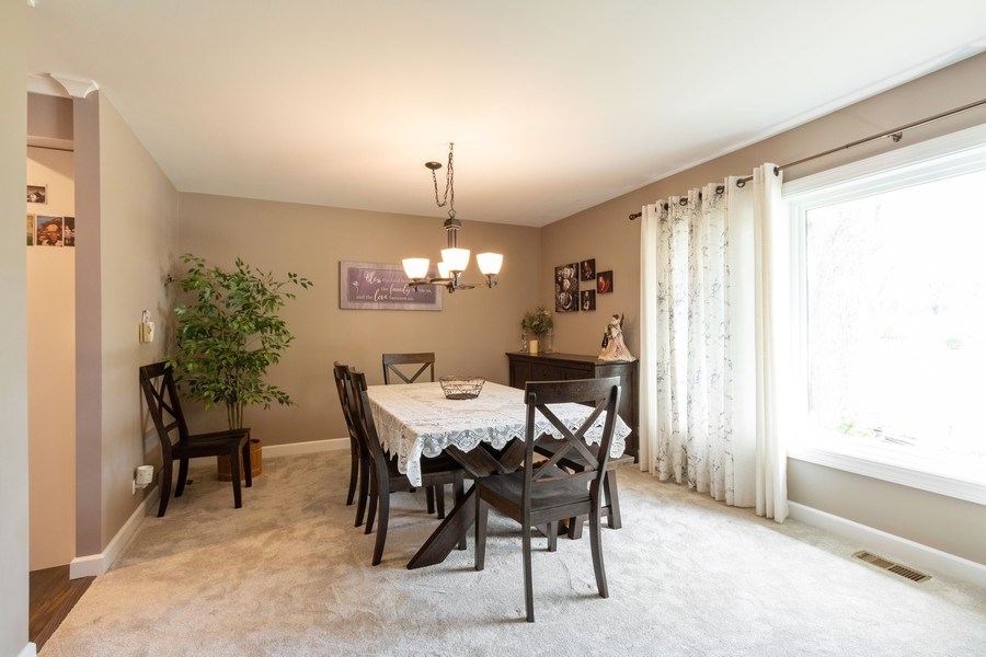 Real Estate Photography - 4218 Wilson Avenue, Rolling Meadows, IL, 60008 - Dining Room