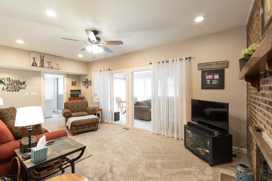 Real Estate Photography - 4218 Wilson Avenue, Rolling Meadows, IL, 60008 - Family Room