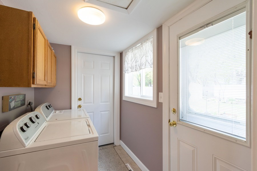 Real Estate Photography - 4218 Wilson Avenue, Rolling Meadows, IL, 60008 - Laundry Room