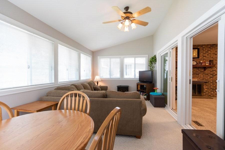 Real Estate Photography - 4218 Wilson Avenue, Rolling Meadows, IL, 60008 - Enclosed 3 Season Room