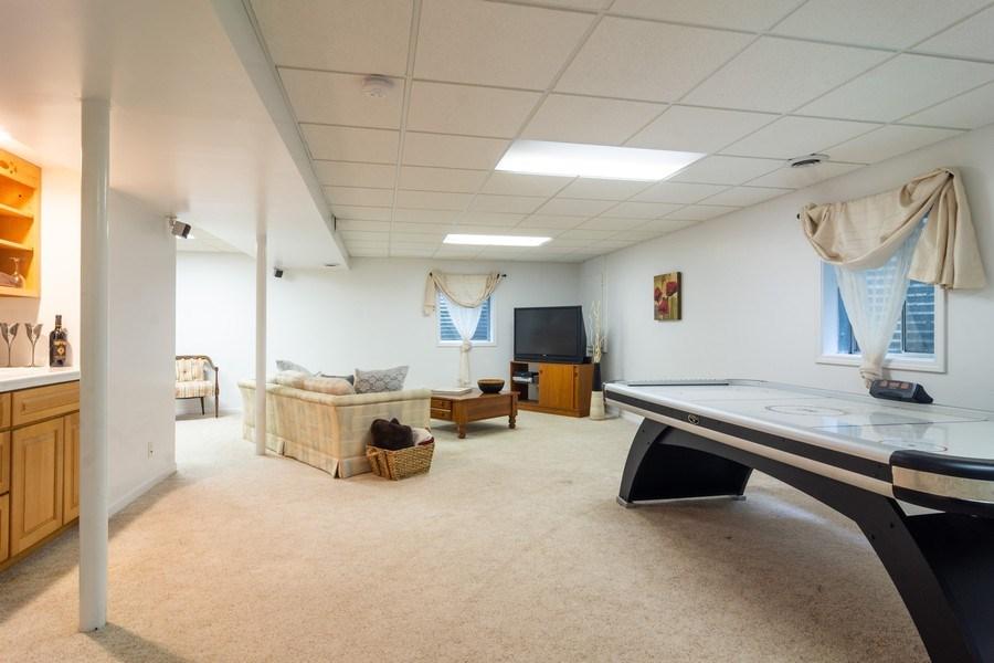Real Estate Photography - 308 S Derbyshire, Arlington Heights, IL, 60004 - Basement Rec Room