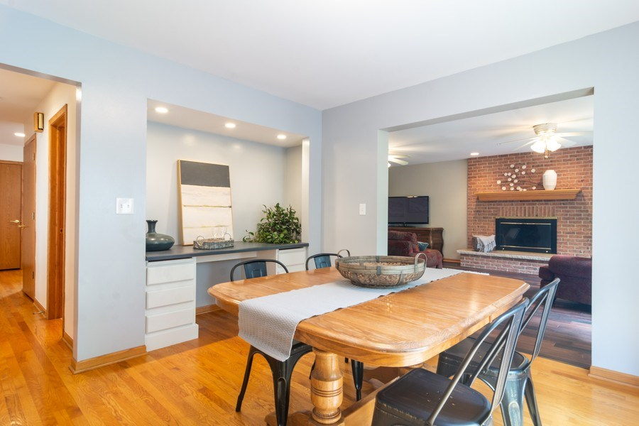 Real Estate Photography - 308 S Derbyshire, Arlington Heights, IL, 60004 - Breakfast Nook