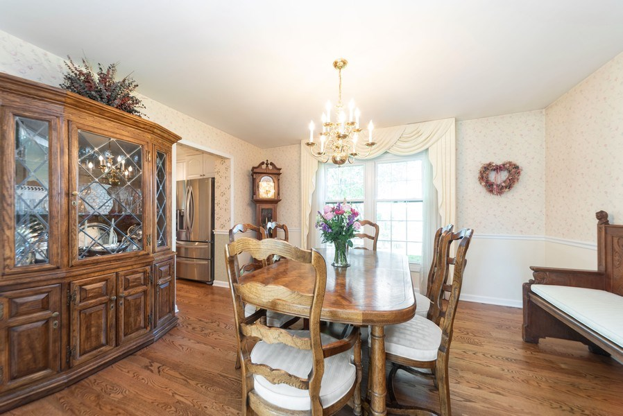 Real Estate Photography - 940 Shambliss Lane, Buffalo Grove, IL, 60089 - Dining Room