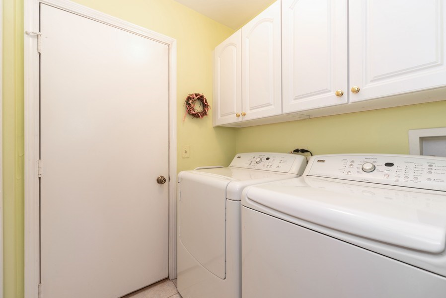 Real Estate Photography - 940 Shambliss Lane, Buffalo Grove, IL, 60089 - Laundry Room