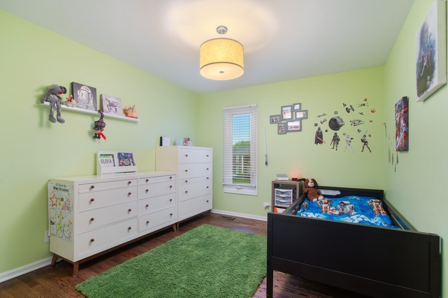 Real Estate Photography - 813 Heatherstone Drive, Schaumburg, IL, 60173 - 3rd Bedroom