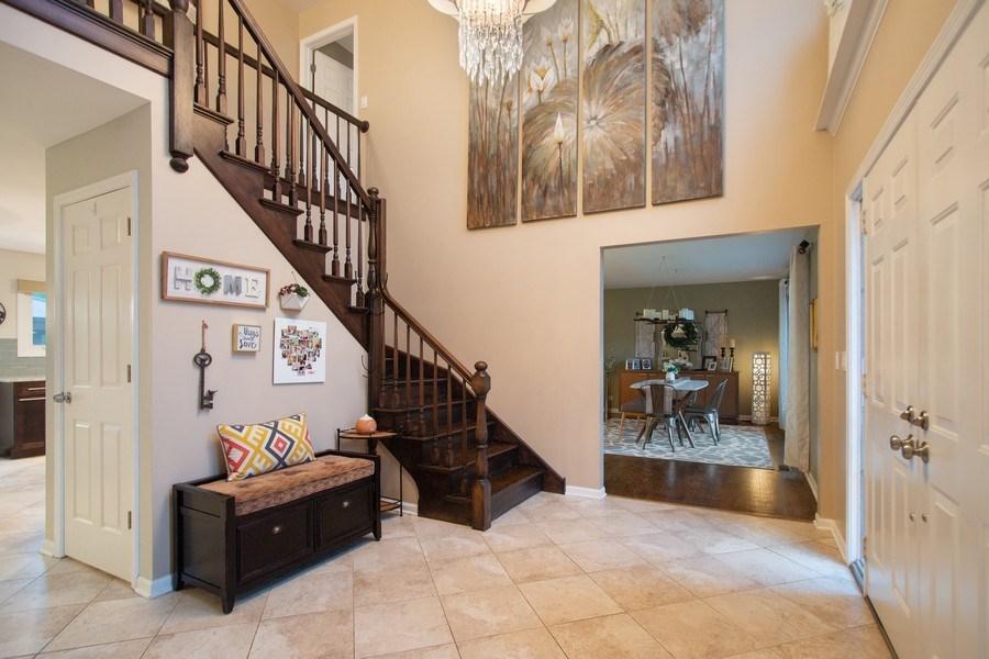 Real Estate Photography - 813 Heatherstone Drive, Schaumburg, IL, 60173 - Foyer