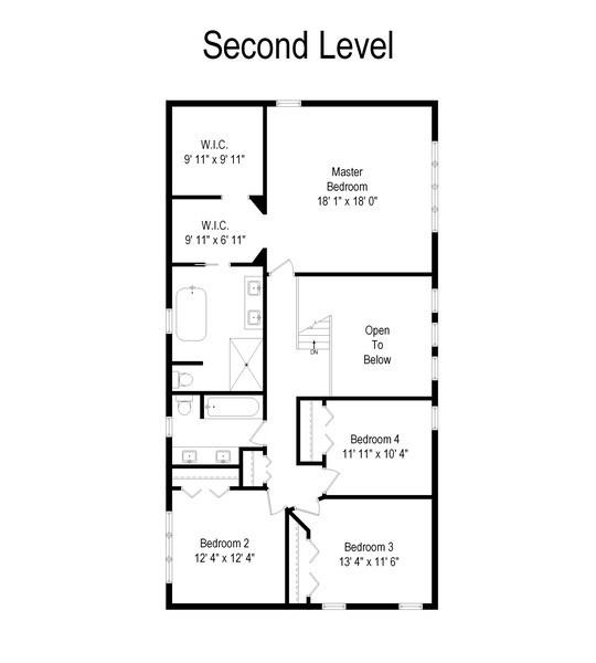 Real Estate Photography - 813 Heatherstone Drive, Schaumburg, IL, 60173 - Floor Plan