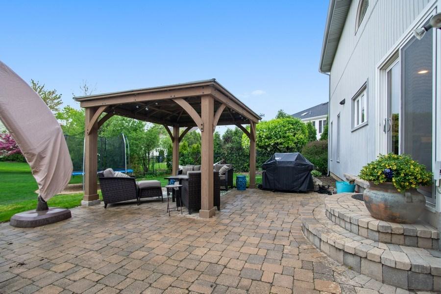 Real Estate Photography - 813 Heatherstone Drive, Schaumburg, IL, 60173 - Patio