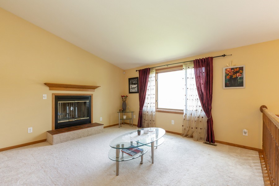 Real Estate Photography - 2408 Ridge Road, Cary, IL, 60013 - Living Room