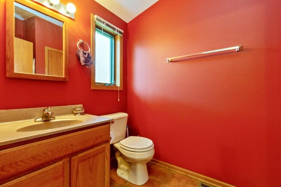 Real Estate Photography - 2408 Ridge Road, Cary, IL, 60013 - Master Bathroom