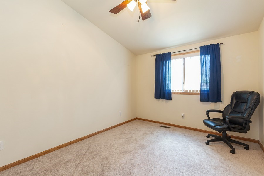 Real Estate Photography - 2408 Ridge Road, Cary, IL, 60013 - 3rd Bedroom