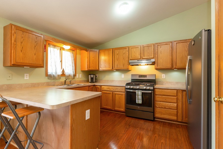 Real Estate Photography - 2408 Ridge Road, Cary, IL, 60013 - Kitchen