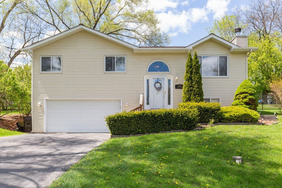 Real Estate Photography - 2408 Ridge Road, Cary, IL, 60013 - Front View