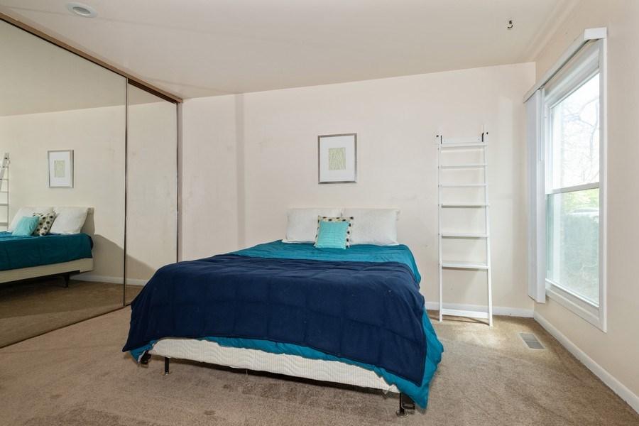 Real Estate Photography - 5544 E. Lake Drive, Unit B, Lisle, IL, 60532 - Bedroom