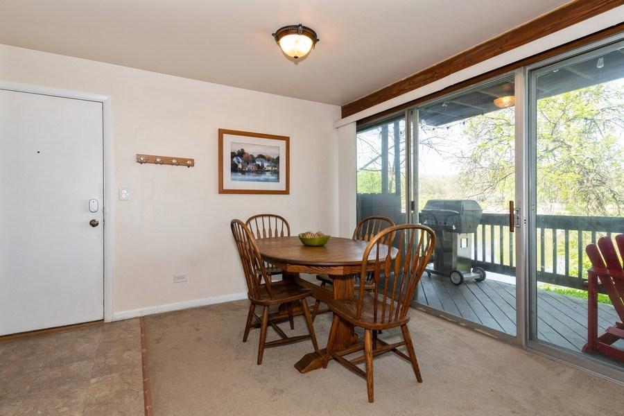 Real Estate Photography - 5544 E. Lake Drive, Unit B, Lisle, IL, 60532 - Dining Room