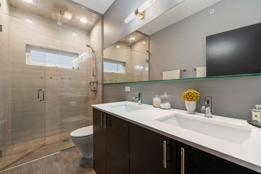 Real Estate Photography - 1341 W. Ancona Street, Chicago, IL, 60642 - Master Bathroom