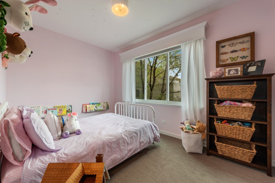 Real Estate Photography - 1341 W. Ancona Street, Chicago, IL, 60642 - 2nd Bedroom