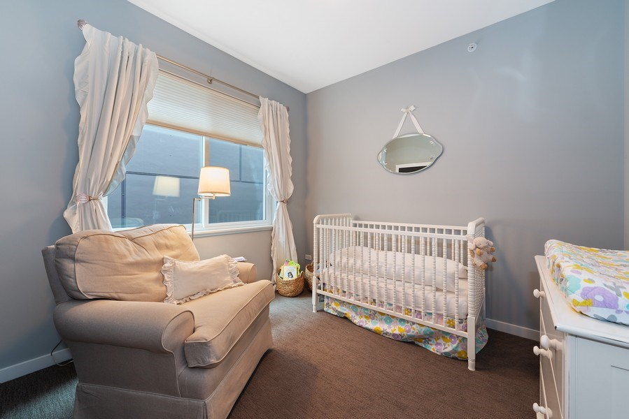 Real Estate Photography - 1341 W. Ancona Street, Chicago, IL, 60642 - 3rd Bedroom
