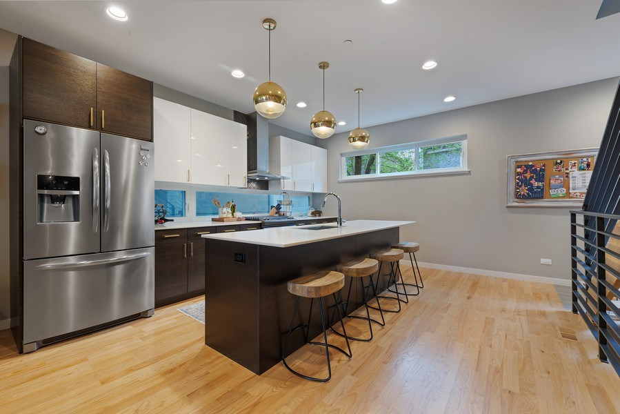 Real Estate Photography - 1341 W. Ancona Street, Chicago, IL, 60642 - Kitchen
