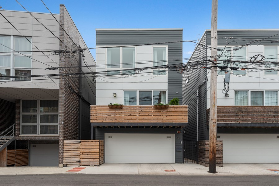 Real Estate Photography - 1341 W. Ancona Street, Chicago, IL, 60642 - Front View