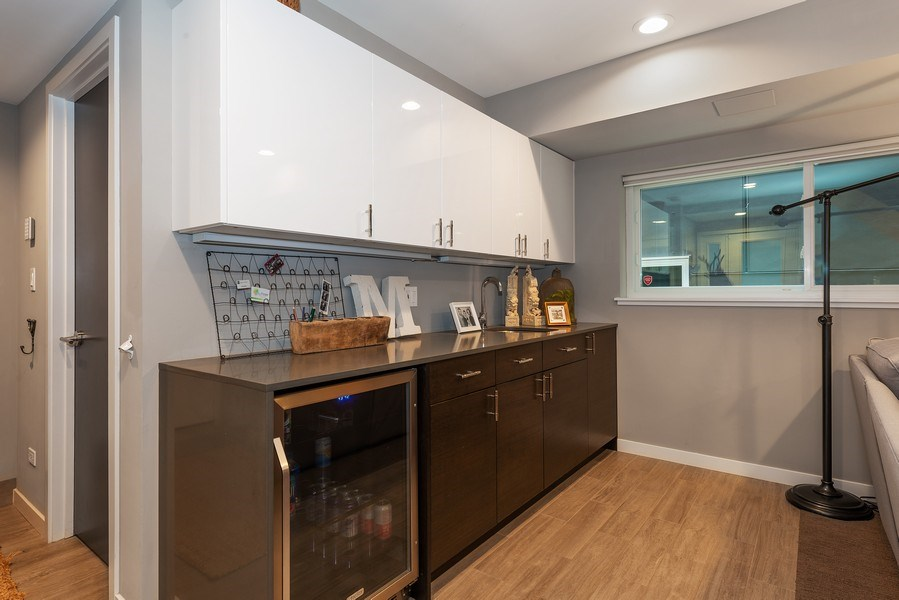 Real Estate Photography - 1341 W. Ancona Street, Chicago, IL, 60642 - Bar