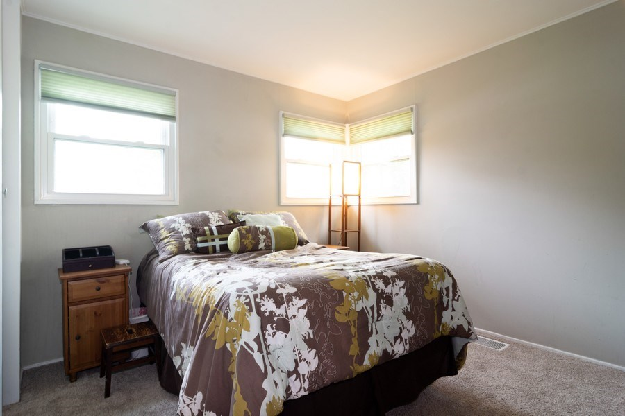 Real Estate Photography - 2704 Sigwalt Street, Rolling Meadows, IL, 60008 - Master Bedroom