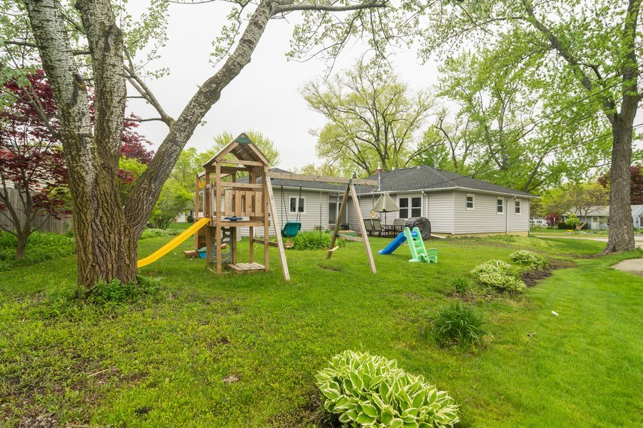 Real Estate Photography - 2704 Sigwalt Street, Rolling Meadows, IL, 60008 - Rear View