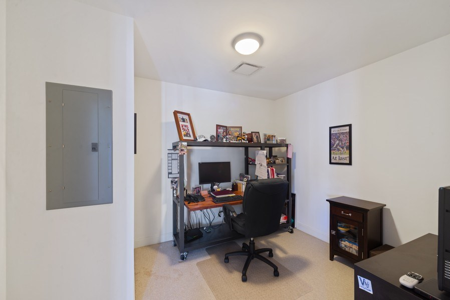 Real Estate Photography - 340 E. Randolph Street, Unit 1904, Chicago, IL, 60601 - Den