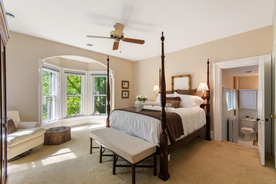 Real Estate Photography - 135 South Lincoln St, Batavia, IL, 60510 - Master Bedroom