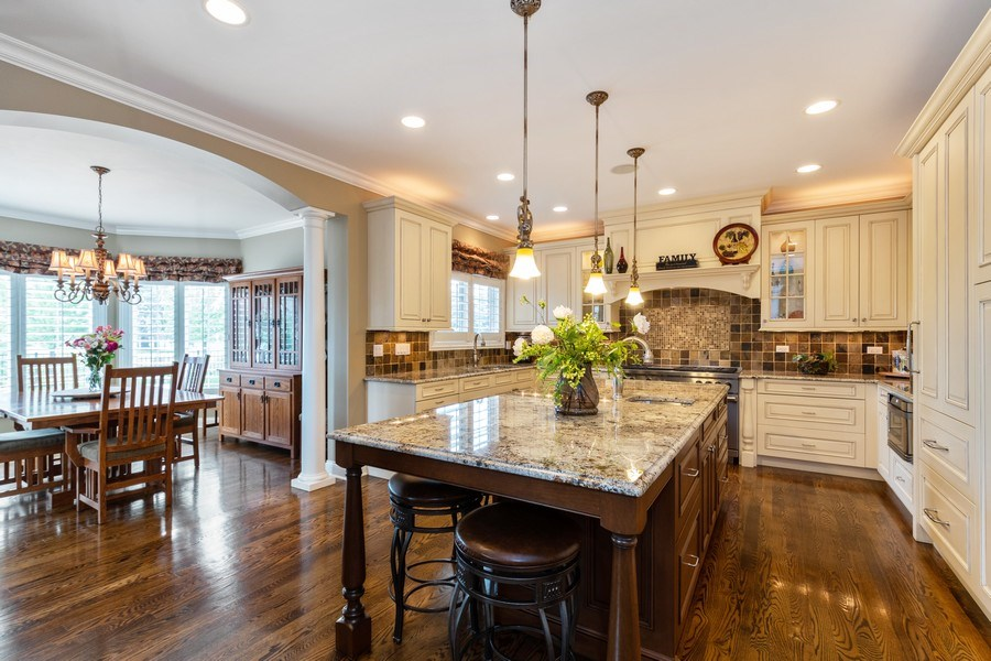 Real Estate Photography - 22332 N. GREENMEADOW Drive, Kildeer, IL, 60047 - Kitchen