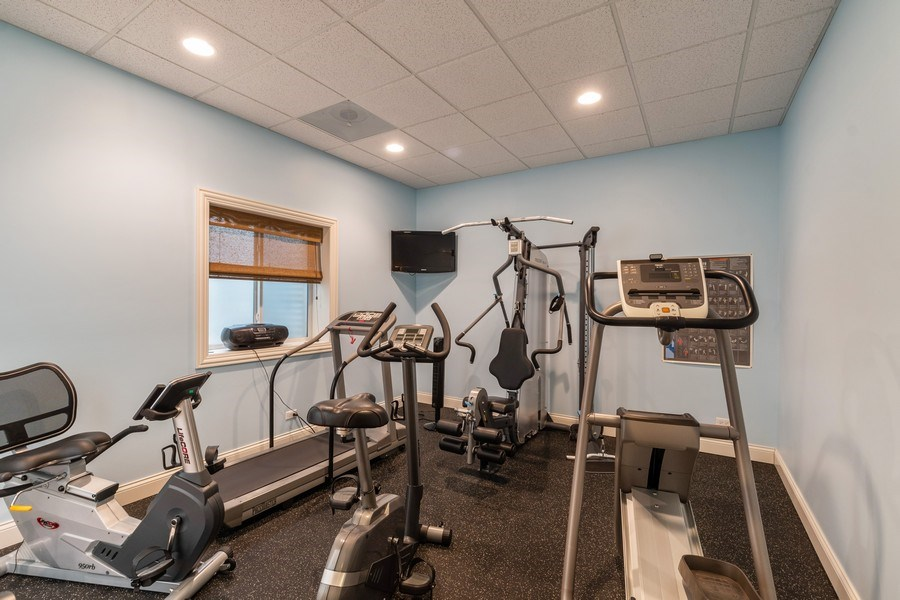 Real Estate Photography - 22332 N. GREENMEADOW Drive, Kildeer, IL, 60047 - Exercise Room