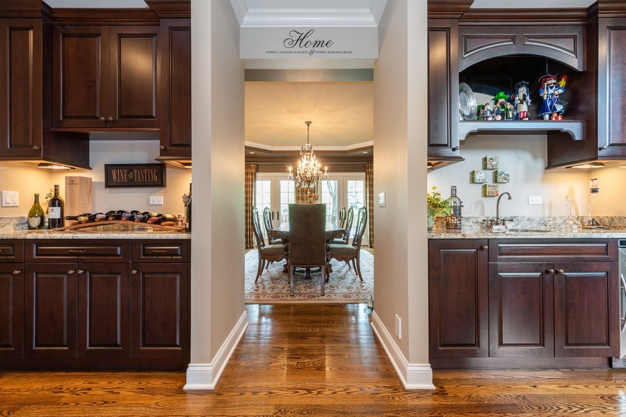 Real Estate Photography - 22332 N. GREENMEADOW Drive, Kildeer, IL, 60047 - Butler's pantry