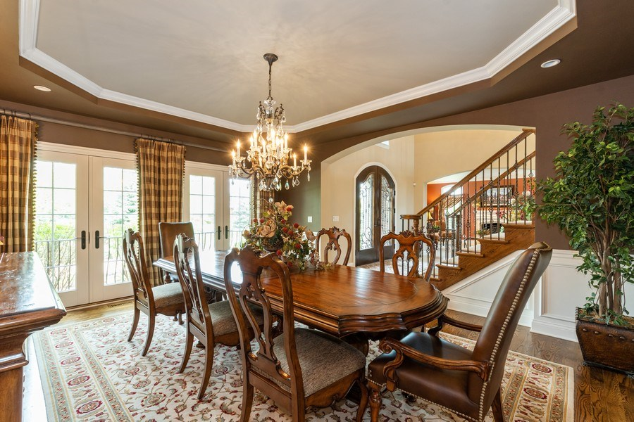 Real Estate Photography - 22332 N. GREENMEADOW Drive, Kildeer, IL, 60047 - Dining Room