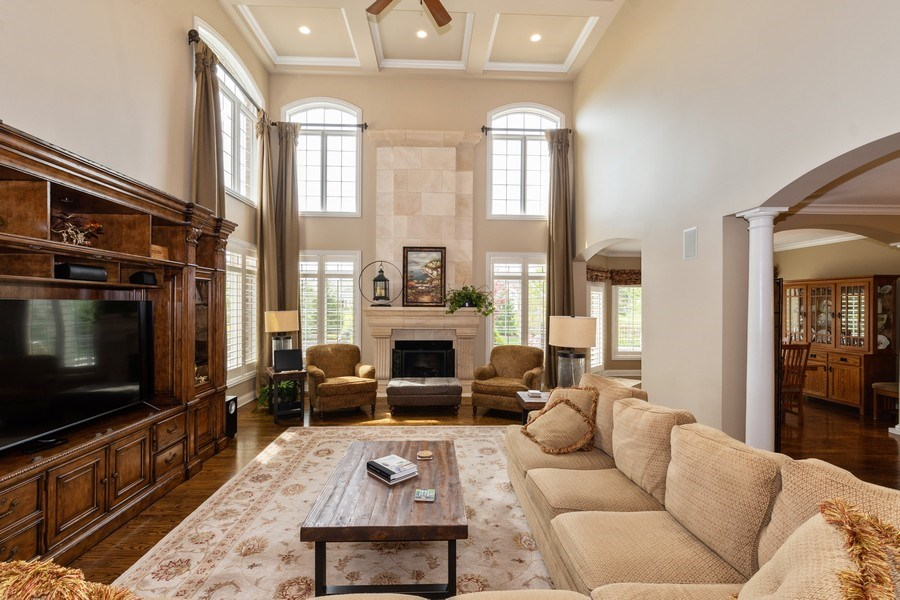 Real Estate Photography - 22332 N. GREENMEADOW Drive, Kildeer, IL, 60047 - Family Room