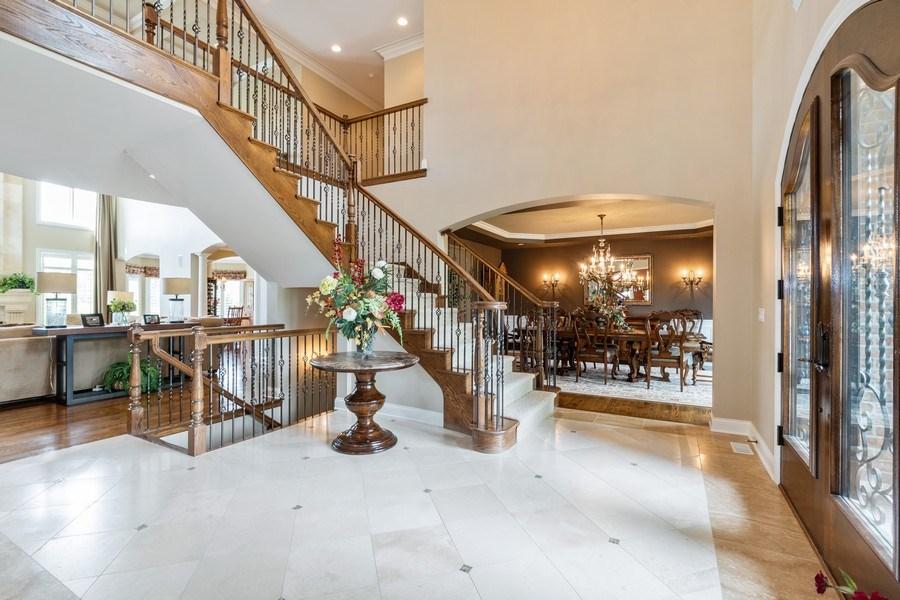 Real Estate Photography - 22332 N. GREENMEADOW Drive, Kildeer, IL, 60047 - Foyer