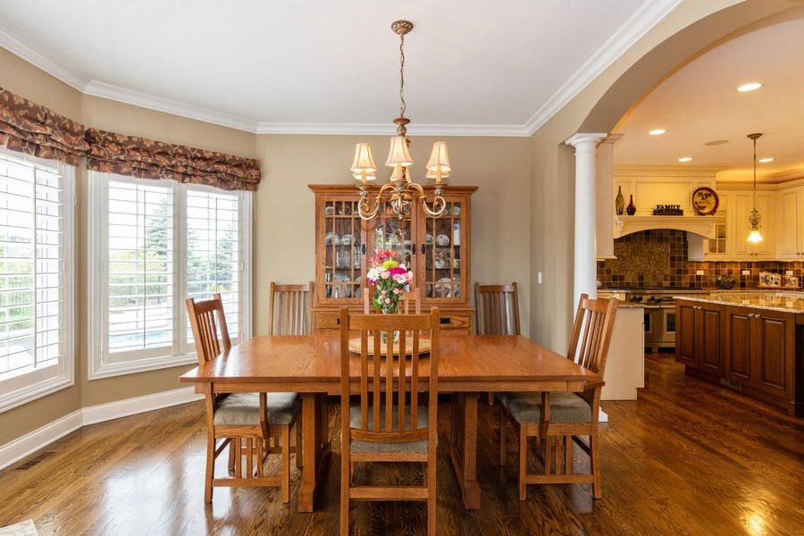 Real Estate Photography - 22332 N. GREENMEADOW Drive, Kildeer, IL, 60047 - Dining Area