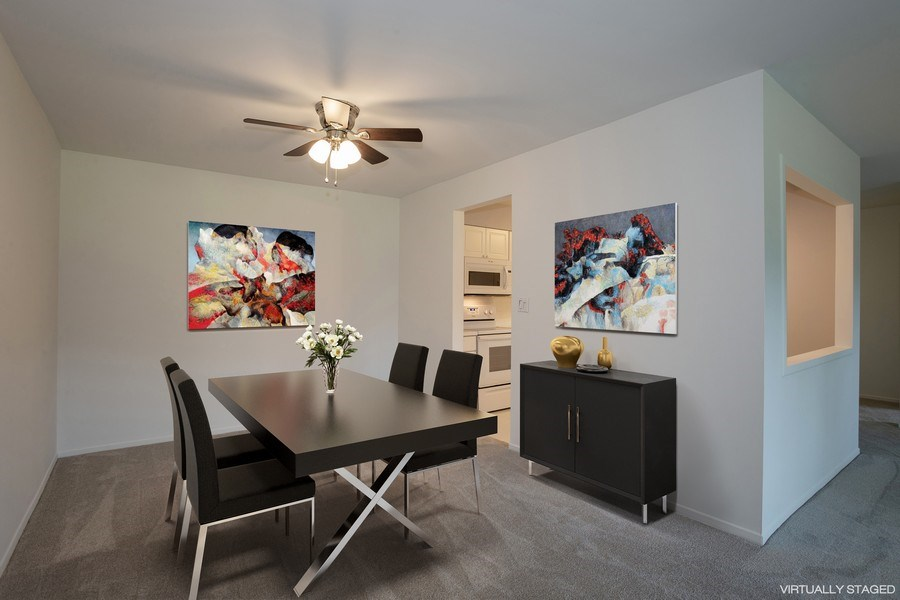 Real Estate Photography - 1505 E. Central Road, Unit 106A, Arlington Heights, IL, 60005 - Dining Room