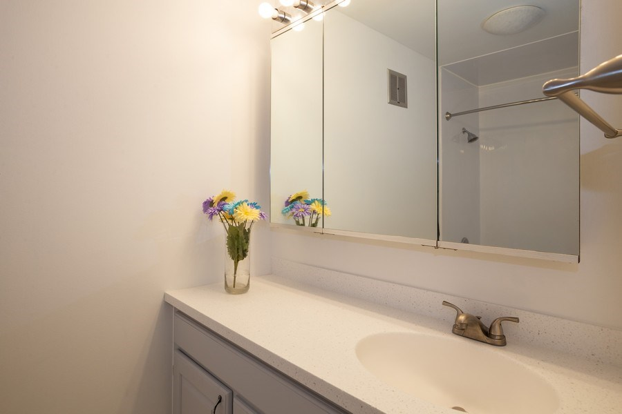 Real Estate Photography - 1505 E. Central Road, Unit 106A, Arlington Heights, IL, 60005 - Bathroom