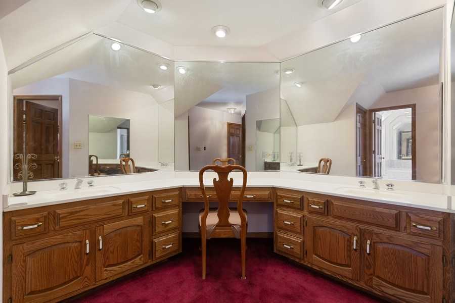 Real Estate Photography - 8738 Kentwood Court, Darien, IL, 60561 - Master Bathroom
