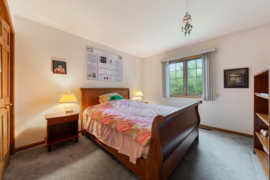 Real Estate Photography - 8738 Kentwood Court, Darien, IL, 60561 - Bedroom