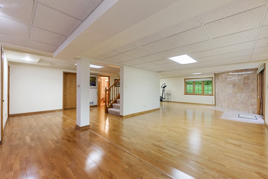 Real Estate Photography - 8738 Kentwood Court, Darien, IL, 60561 - Basement