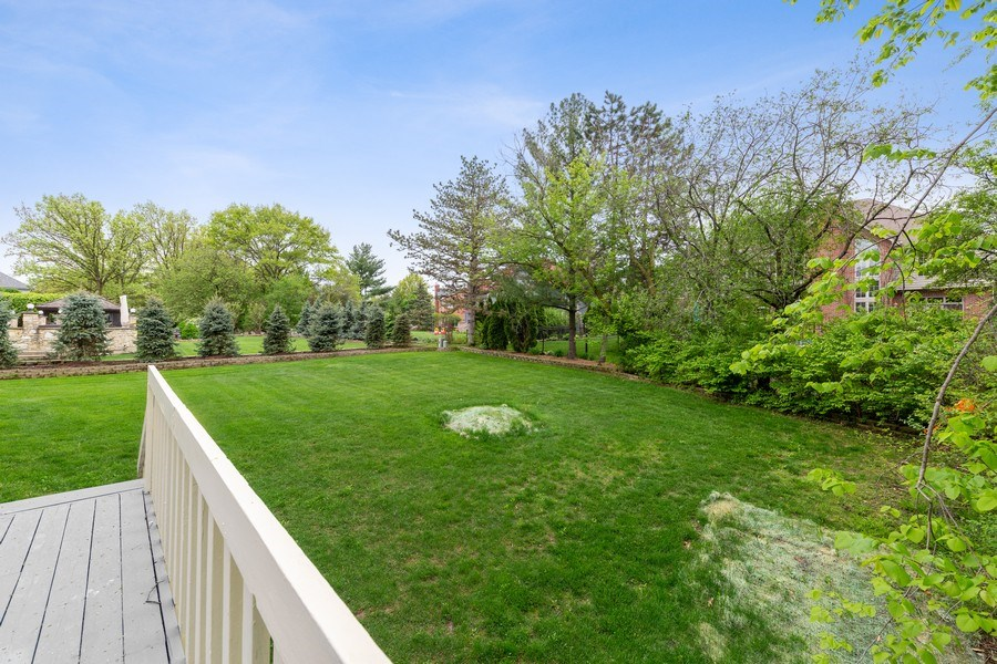 Real Estate Photography - 8738 Kentwood Court, Darien, IL, 60561 - Back Yard