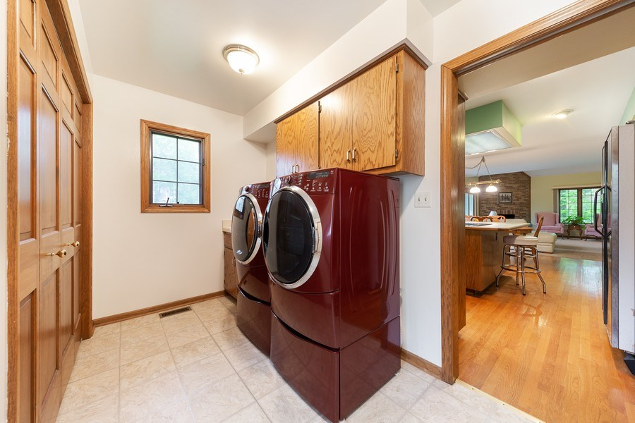 Real Estate Photography - 8738 Kentwood Court, Darien, IL, 60561 - Laundry Room