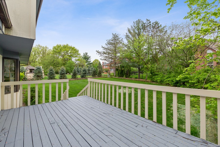 Real Estate Photography - 8738 Kentwood Court, Darien, IL, 60561 - Deck