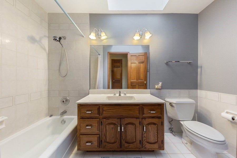 Real Estate Photography - 8738 Kentwood Court, Darien, IL, 60561 - Bathroom