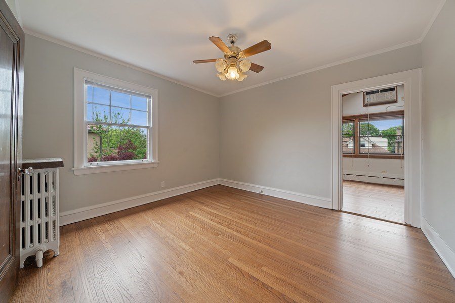 Real Estate Photography - 1207 Rossell Avenue, Oak Park, IL, 60302 - 2nd Bedroom