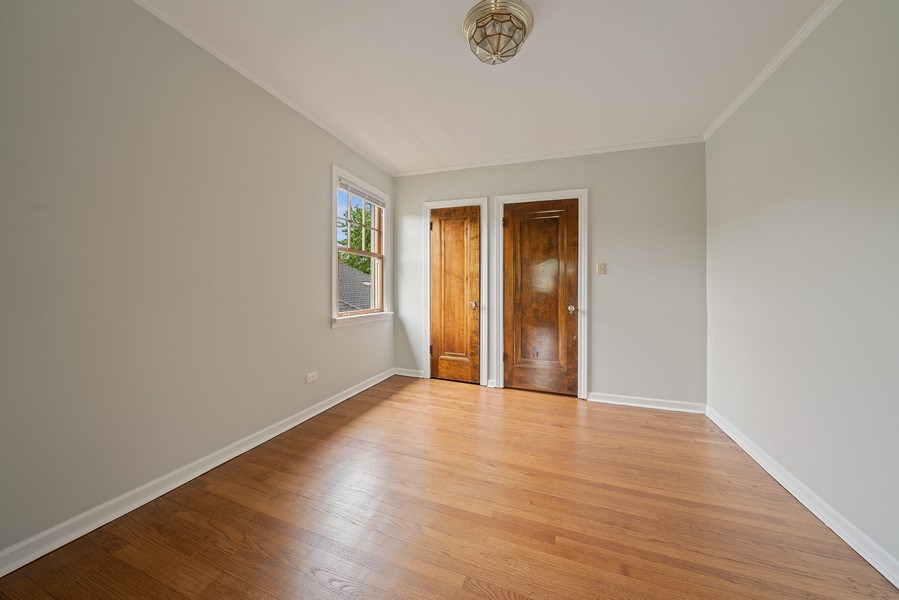 Real Estate Photography - 1207 Rossell Avenue, Oak Park, IL, 60302 - 3rd Bedroom