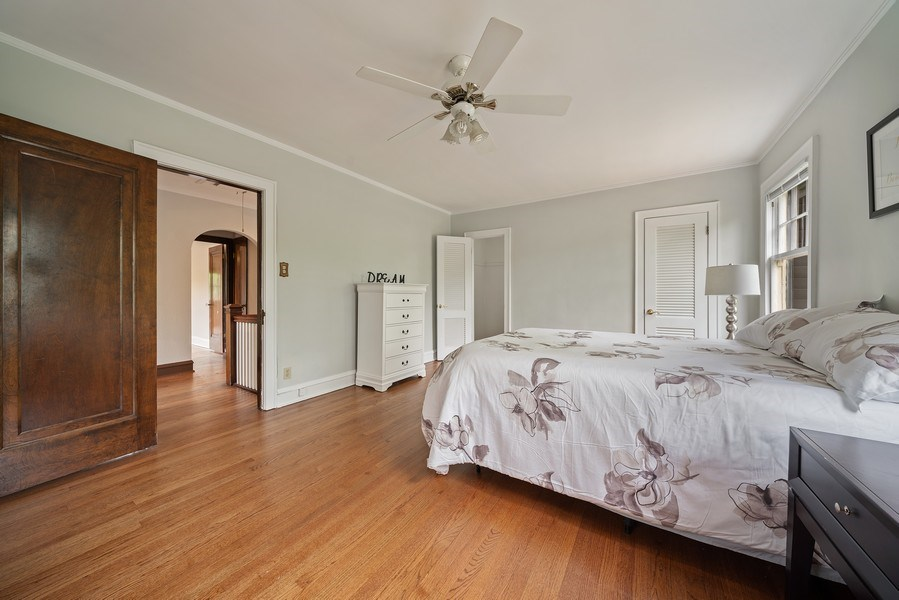 Real Estate Photography - 1207 Rossell Avenue, Oak Park, IL, 60302 - Master Bedroom