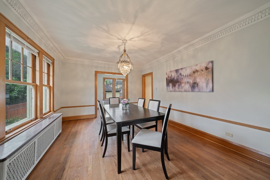 Real Estate Photography - 1207 Rossell Avenue, Oak Park, IL, 60302 - Dining Room